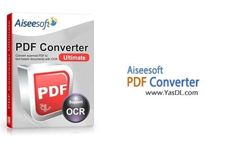 دانلود Aiseesoft PDF Converter Ultimate v3.2.36 نرم افزار مبدل فایل های PDF