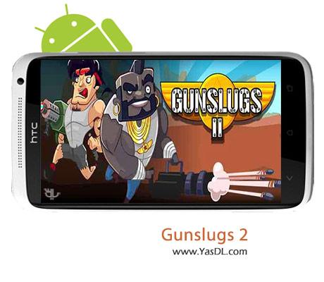دانلود بازی Gunslugs 2 v1.3.2 برای اندروید + نسخه پول بی نهایت