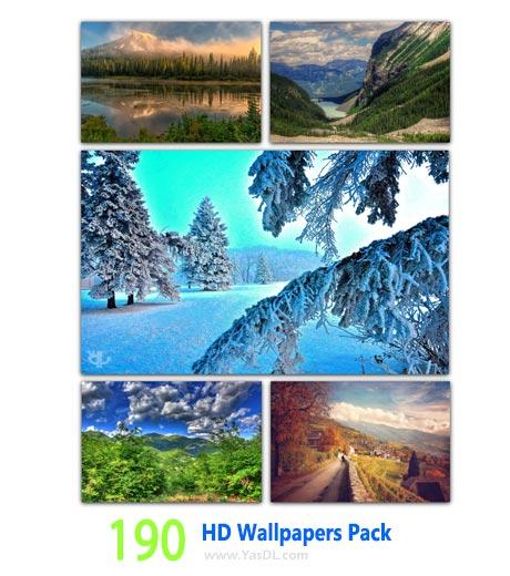 دانلود 190 والپیپر طبیعت HD Wallpapers Pack