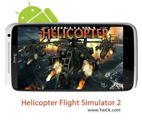 دانلود بازی Helicopter Flight Simulator 2 v1.0 برای اندروید