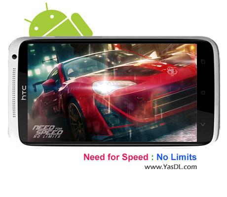 دانلود بازی Need for Speed No Limits برای اندروید + نسخه بی نهایت