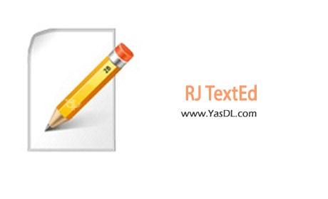 دانلود RJ TextEd v10.20 - برنامه ویرایش متن و سورس فایل