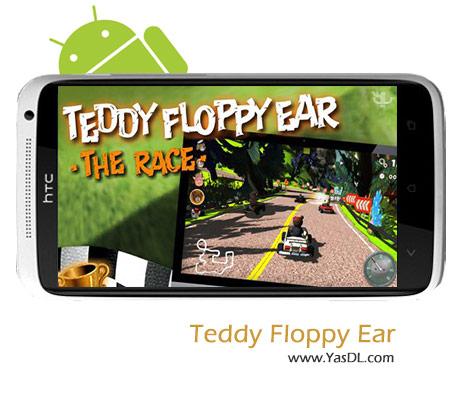 دانلود بازی Teddy Floppy Ear: The Race v1.01 برای اندروید