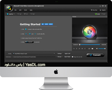 دانلود Aiseesoft Total Video Converter 8.1.10 - مبدل قدرتمند ویدئو