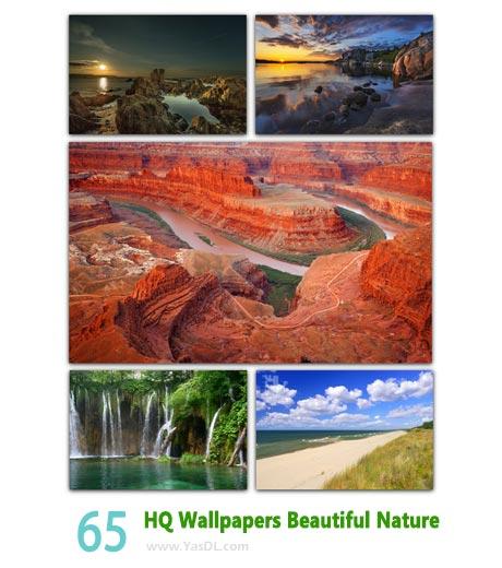 دانلود مجموعه 65 والپیپر طبیعت HQ Wallpapers Beautiful Nature