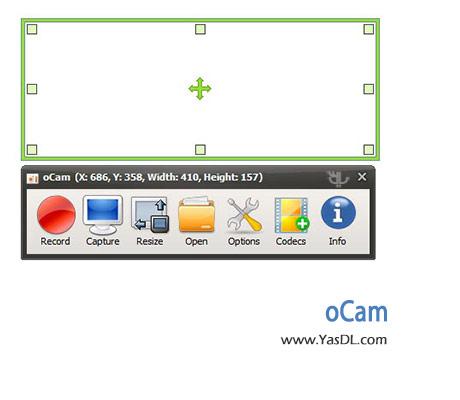 دانلود oCam 264.0 - نرم افزار تهیه عکس و فیلم از صفحه دسکتاپ ویندوز