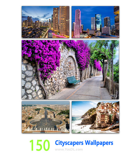 150 Cityscapes Wallpapers cover - دانلود 150 والپیپر شهرهای زیبا Cityscapes Wallpapers