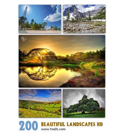 دانلود مجموعه 200 والپیپر طبیعت Beautiful Landscapes HD Wallpapers