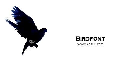 دانلود BirdFont v2.4.0 + Portable نرم افزار ساخت فونت