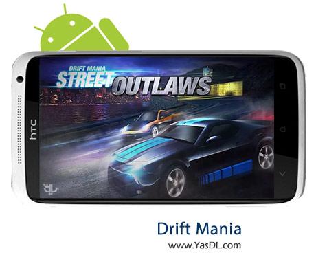 دانلود بازی Drift Mania Street Outlaws 1.10 برای اندروید + پول بی نهایت
