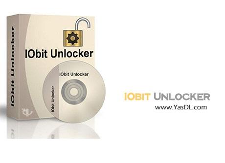 دانلود IObit Unlocker برنامه حذف فایل های که پاک نمی شوند