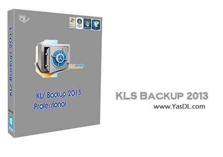 دانلود KLS Backup 2013 Professional v7.2.1.8 پشتیبان گیری از اطلاعات
