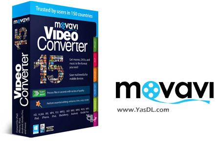 دانلود Movavi Video Converter 16.0 + Portable - مبدل همه کاره برای فایل های تصویری