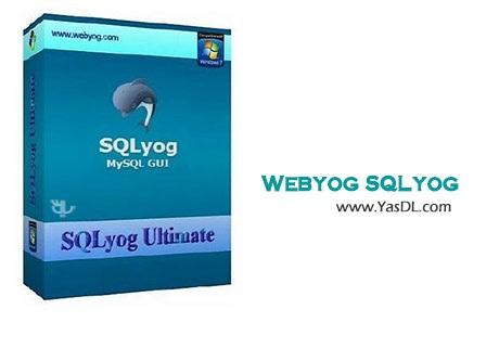 دانلود Webyog SQLyog Ultimate v12.0.9.0 x86/x64 مدیریت دیتابیس های MySQL