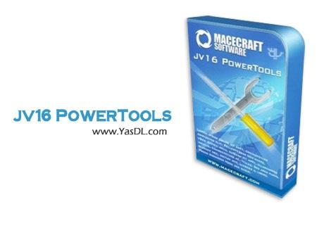 دانلود jv16 PowerTools 6.0.0.1068 RC + Portable - مجموعه ابزارهای بهینه سازی