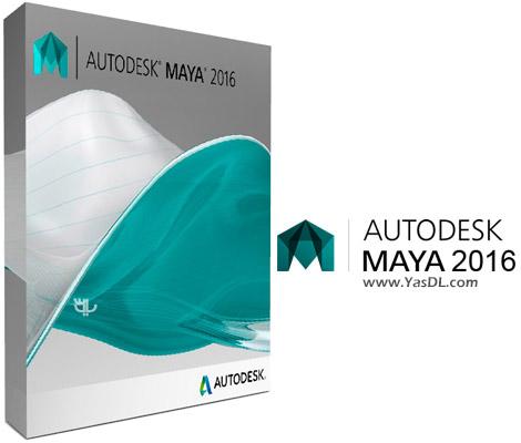 دانلود Autodesk Maya 2016 SP6 x64 - نرم افزار مایا