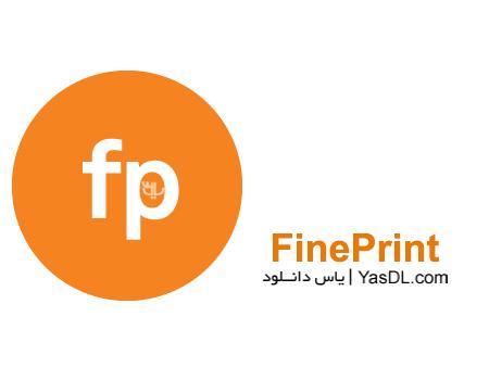 دانلود FinePrint 8.27 Final - نرم افزار صرفه جویی در جوهر پرینتر