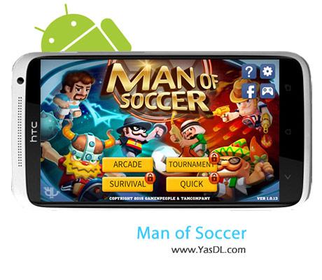 دانلود بازی Man Of Soccer v1.0.15 برای اندروید