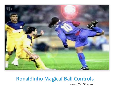 دانلود کلیپ مهارت جادویی رونالدینیو در کنترل توپ