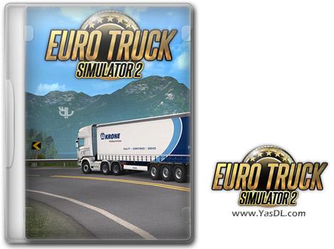 دانلود بازی Euro Truck Simulator 2 Krone Trailer Pack برای PC