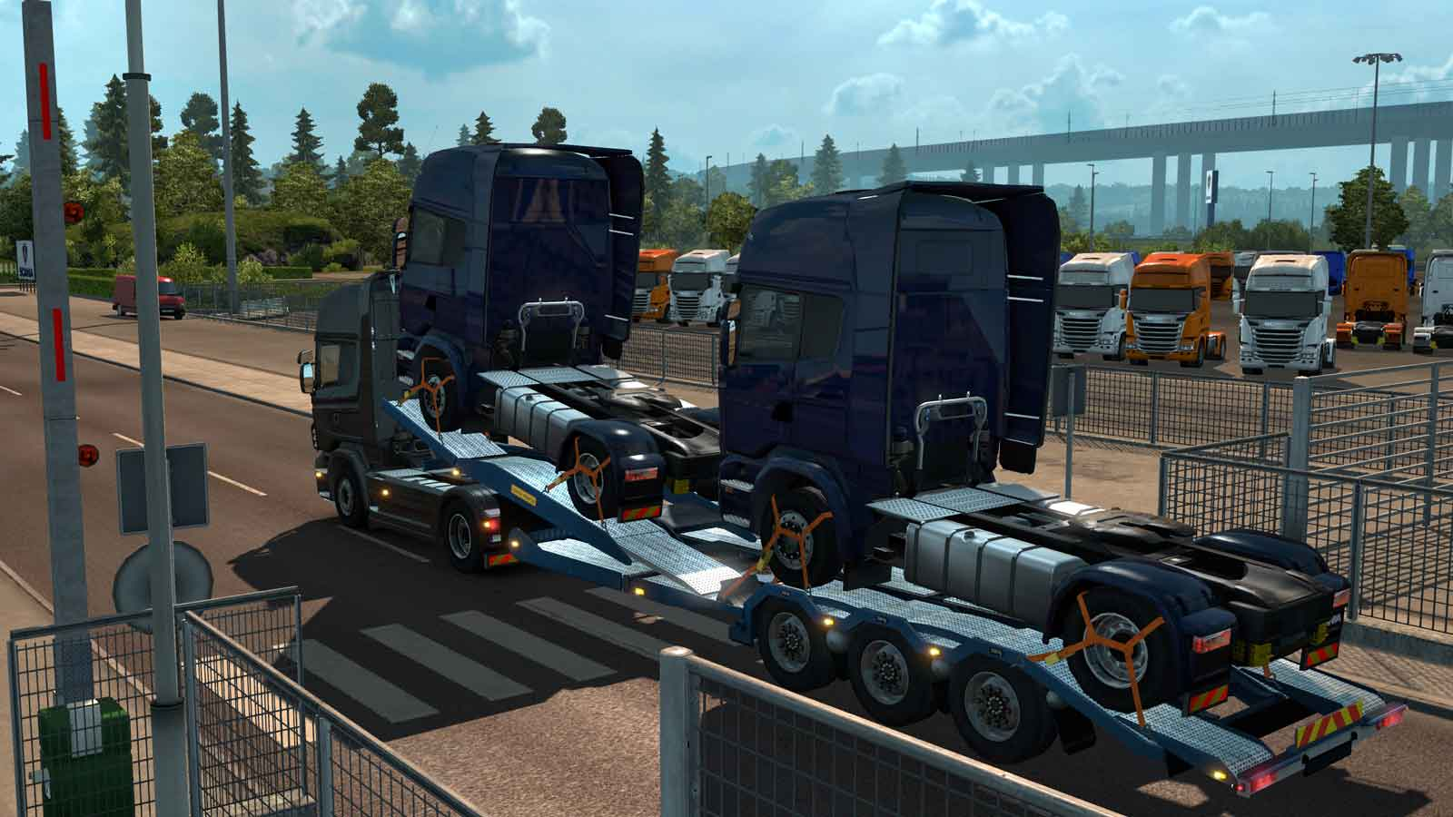 euro truck simulator 2 scandinavia pc. Black Bedroom Furniture Sets. Home Design Ideas