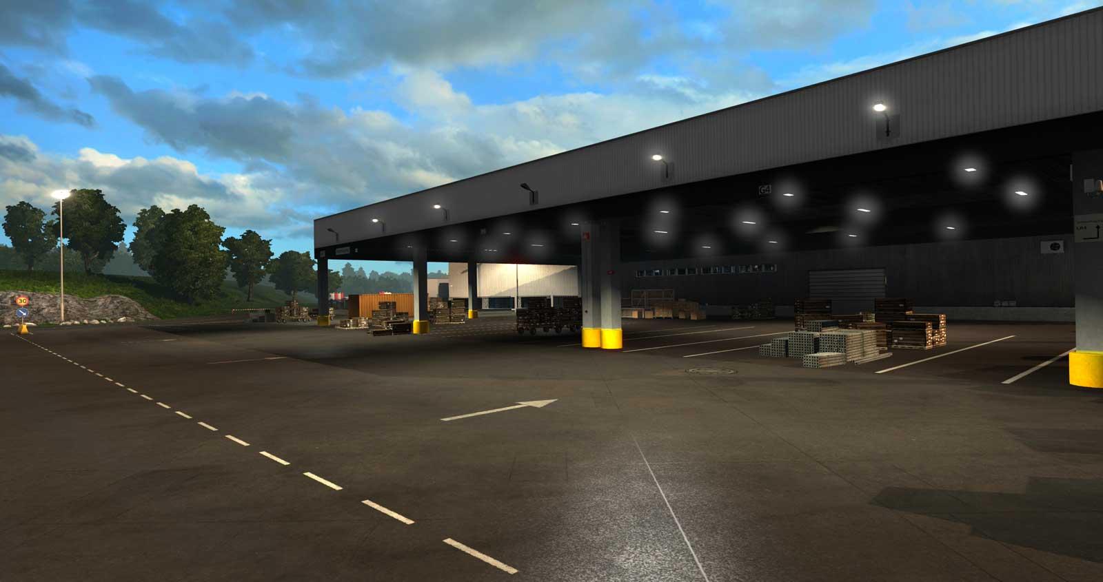 euro truck simulator 2 scandinavia pc. Black Bedroom Furniture Sets. Home Design Ideas