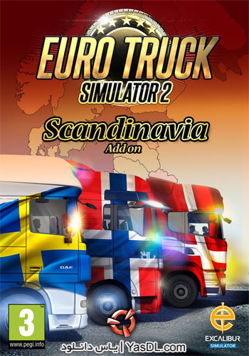 دانلود بازی Euro Truck Simulator 2 Scandinavia برای PC