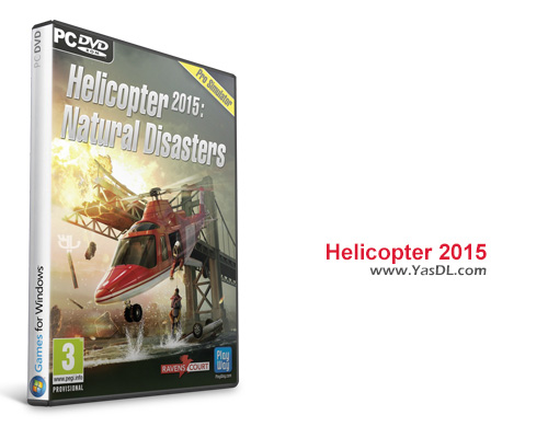 دانلود بازی Helicopter 2015 Natural Disasters برای PC
