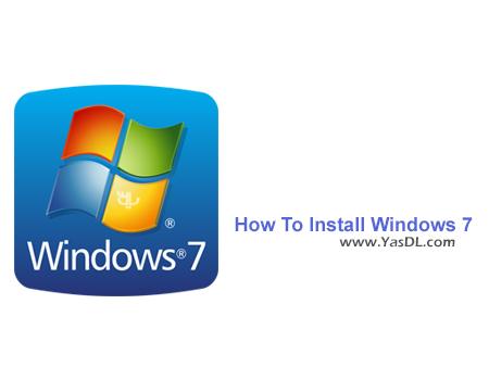 دانلود فیلم آموزش نصب ویندوز 7 - How To Install Windows 7