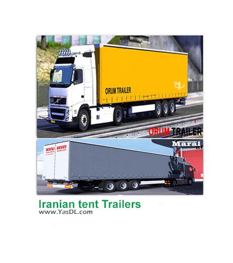 دانلود مد Iranian tent Trailers برای بازی Euro Truck Simulator 2
