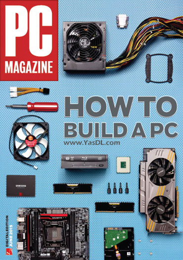 دانلود مجله PC Magazine June 2015 - مجله سخت افزار