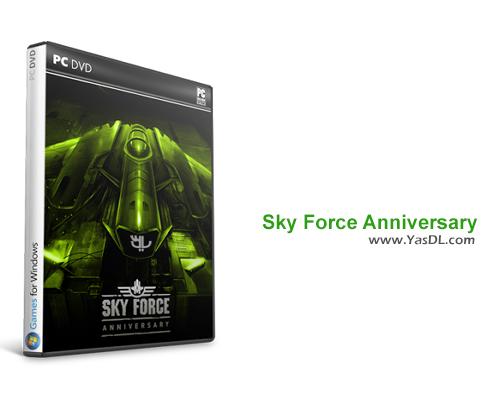 دانلود بازی Sky Force Anniversary برای PC