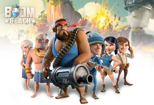 دانلود بازی Boom Beach 22.62 – بوم بیچ برای اندروید + دیتا