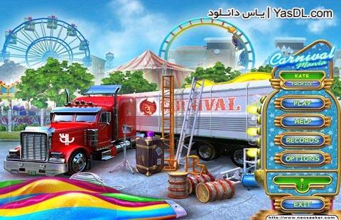 دانلود بازی کم حجم مدیریتی Carnival Mania برای PC