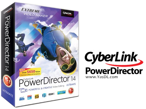دانلود CyberLink PowerDirector Ultimate 14.0.2527.0 - نرم افزار تدوین حرفه ای فیلم