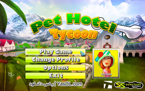دانلود بازی کم حجم و مدیریتی Pet Hotel Tycoon برای کامپیوتر