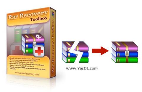 دانلود Recovery Toolbox for RAR 1.2.17.41 - نرم افزار ریکاوری فایل های RAR