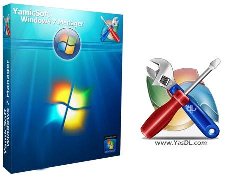 دانلود Windows 7 Manager 5.1.8 + Portable - بهینه سازی و مدیریت ویندوز 7