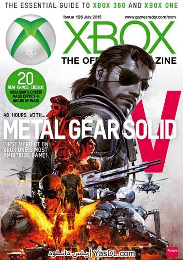 دانلود مجله Xbox The Official Magazine - July 2015 - مجله ایکس باکس