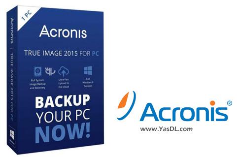 دانلود Acronis True Image + Bootable - گرفتن پشتیبان از ویندوز
