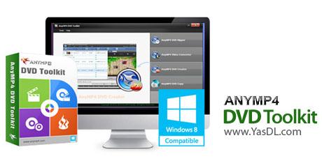 دانلود AnyMP4 DVD Creator 6.0.86 - ساخت حرفه ای دیسک های DVD