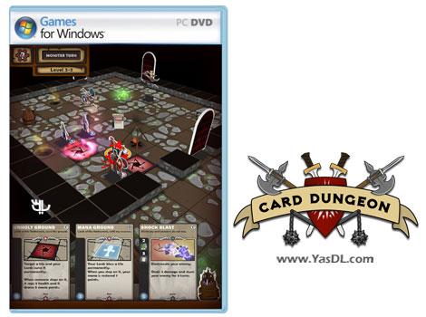 دانلود بازی کم حجم Card Dungeon برای کامپیوتر
