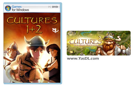 دانلود بازی Cultures Complete برای PC
