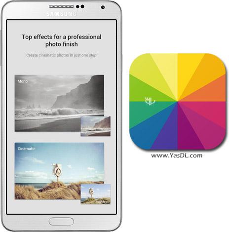 دانلود Fotor Photo Editor Premium 3.5.1.384 - نرم افزار زیبا سازی عکس برای اندروید