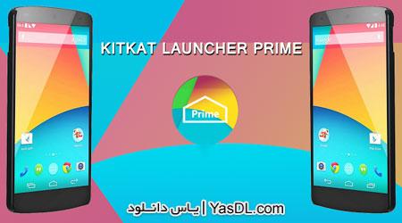 دانلود KitKat Launcher Prime 2.7 - لانچر کیت کت برای اندروید