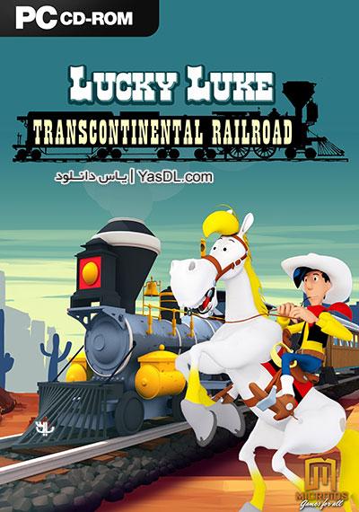 دانلود بازی لوک خوش شانس Lucky Luke Transcontinental Railroad برای کامپیوتر