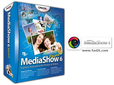 دانلود CyberLink MediaShow Deluxe 6.0.7915 - نرم افزار مدیریت عکس و فیلم