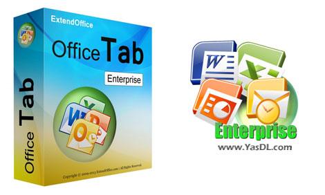 دانلود Office Tab Enterprise 10.0 x86/x64 - نرم افزار آفیس تب