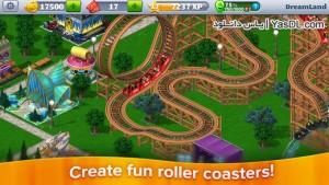 دانلود بازی RollerCoaster Tycoon 4 Mobile