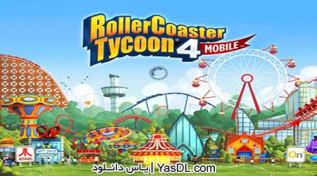 دانلود بازی RollerCoaster Tycoon 4 Mobile 1.5.3 - شهر بازی برای اندروید + نسخه بی نهایت